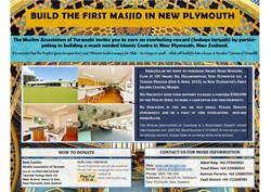 New Plymouth Islamic Centre Update