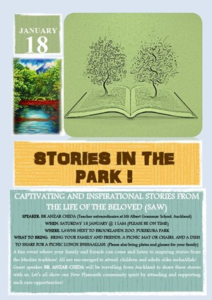 Stories in the Park !