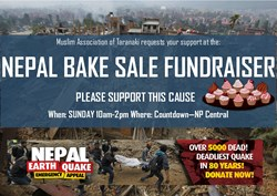 Bake Sale - Nepal Emergency Appeal